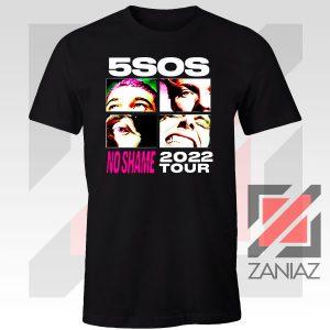 5sos No Shame 2022 Tour Tshirt