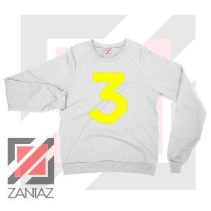 Acid Rap Coloring Book 3 Logo White Sweater