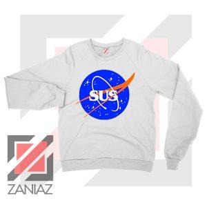 Among Us Game Nasa Parody Sweatshirt