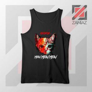 Black Cat Horror Halloween Tank Top