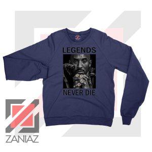 Black Mamba Never Die Navy Sweatshirt