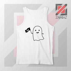 Cute Ghost Cozy Halloween Tank Top