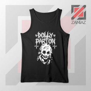 Dolly Parton Metal Design Tank Top