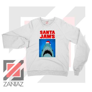 Father Christmas Jaws Parody Sweater