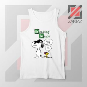 Funny Snoopy Say My Name Tank Top