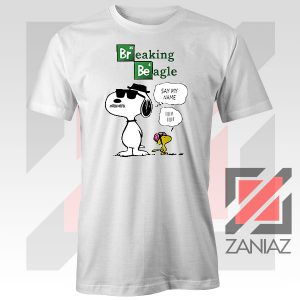 Funny Snoopy Say My Name Tshirt