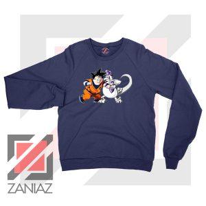 Goku Saiyan Family Guy Navy Blue Sweater