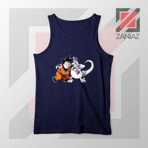 Goku Saiyan Family Guy Navy Tank Top