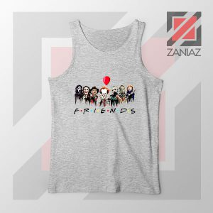 Icons Horror Friends Grey Tank Top