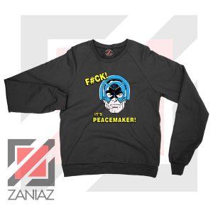 It is Peacemaker John Cena Black Sweatshirt
