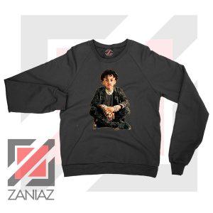 Joyner Lucas Evolution Design Black Sweatshirt
