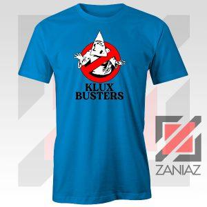 Klux Klan Busters Logo Blue Tee