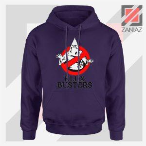 Klux Klan Busters Logo Navy Hoodie