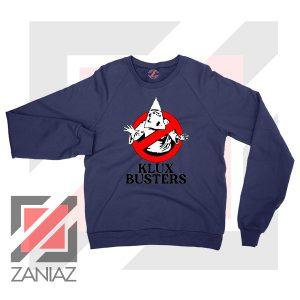 Klux Klan Busters Logo Navy Sweater