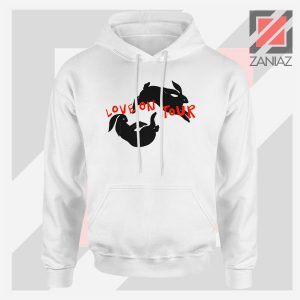 Love On Tour Rabbits Jump Hoodie