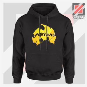 Method Man Wu Tang Logo Black Jacket