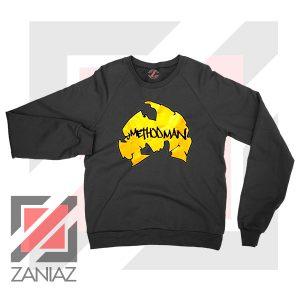 Method Man Wu Tang Logo Black Sweater