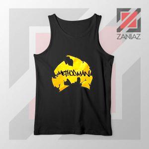 Method Man Wu Tang Logo Black Tank Top