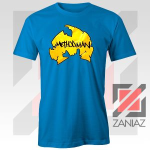 Method Man Wu Tang Logo Blue Tee
