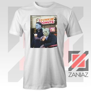 Michael Myers Donuts Company White Tee