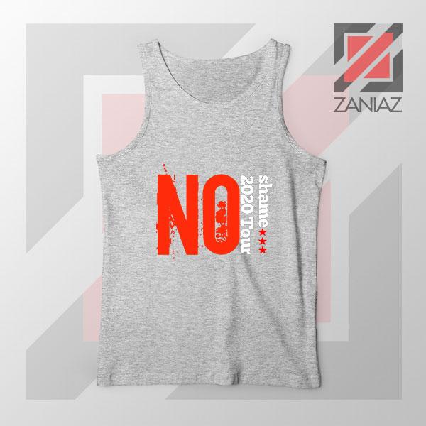 No Shame 2020 Tour 5SOS Grey Tank Top