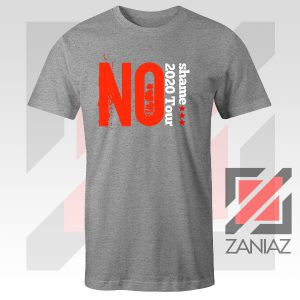 No Shame 2020 Tour 5SOS Grey Tee