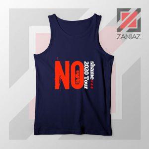 No Shame 2020 Tour 5SOS Navy Tank Top