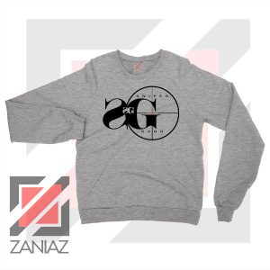 Sniper Gang Music Design Grey Sweatshirt