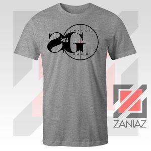 Sniper Gang Musical Design Grey Tshirt