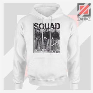 Squad Movie Killer Limited White Jacket