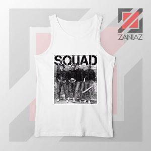 Squad Movie Killer Limited White Tank Top