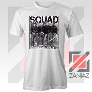 Squad Movie Killer Limited White Tshirt