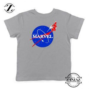 The Marvels 2 Nasa Parody Sport Grey Kids Tee