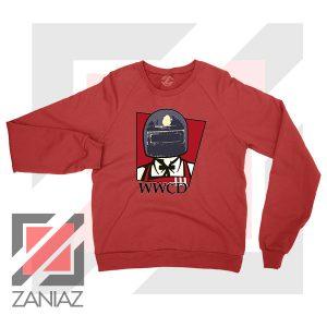 War KFC Chicken Parody Red Sweater