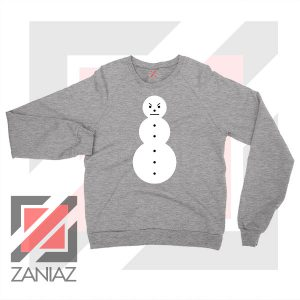 Young Jeezy Symbol Design Grey Sweater