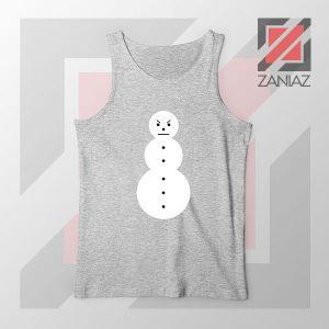 Young Jeezy Symbol Design Grey Tank Top