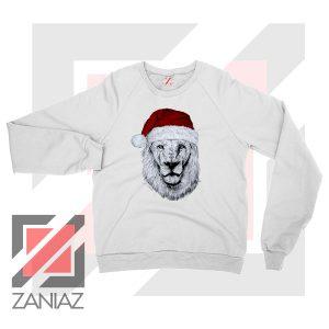 Father Christmas Lion Sweatshirt