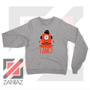 Minion Fancy Monster Sport Grey Sweatshirt